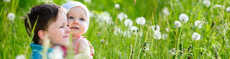 Blumenwiese Kinder